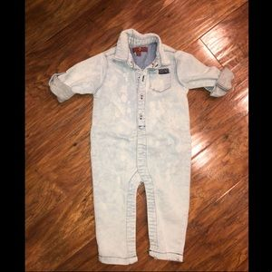 7 For All Mankind - Baby Boys Denim Jumpsuit